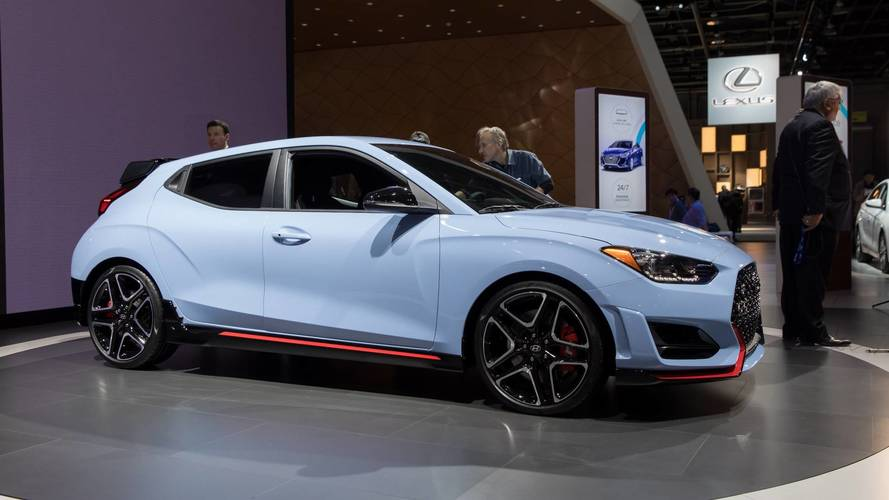 2019 Hyundai Veloster N Coming To U.S. With 275 HP