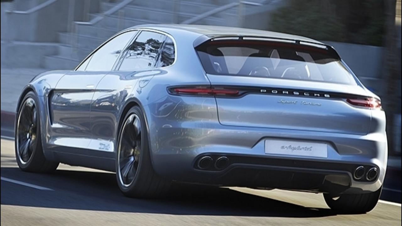 [Copertina] - Porsche Panamera Sport Turismo, la vedremo a Ginevra