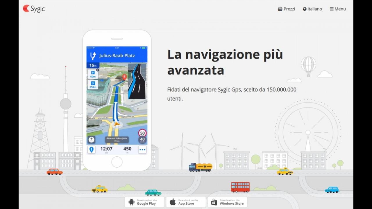 Sulle Ford arriverà il Sygic GPS Navigation   Motor1 com Foto