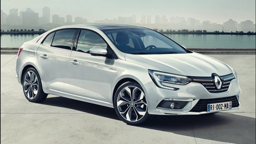 Renault Megane Grand Coupé, la nuova quattro porte
