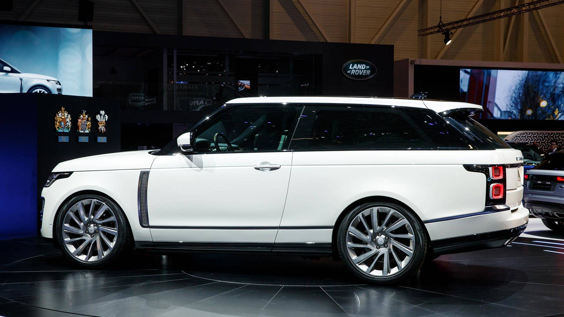 Image result for range rover sv coupe