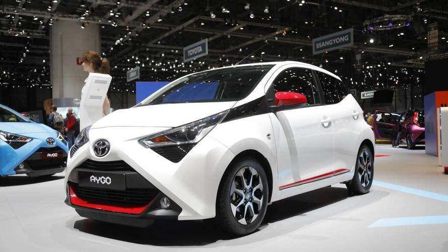Geneva introduction for upgraded Toyota Aygo
