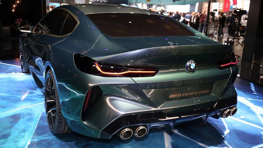 bmw concept m8 gran coupe realistically rendered for production. Black Bedroom Furniture Sets. Home Design Ideas