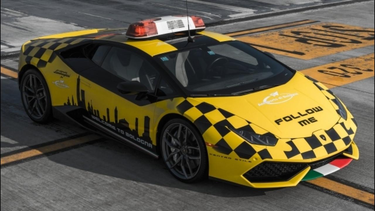 [Copertina] - Una Lamborghini Huracan per l'Aeroporto di Bologna