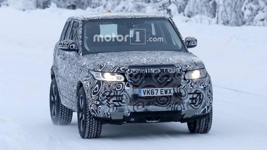 Land Rover Defender 2019 fotos espia