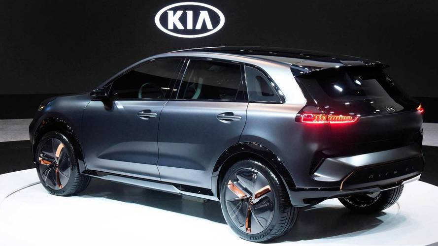 Kia Niro EV Concept SUV Electrifies Attendees At CES