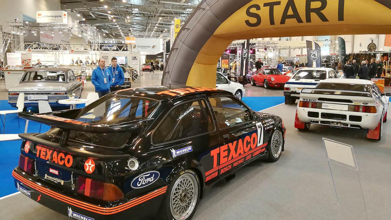 Techno Classica 2018: Renn-Geflügel bei Ford