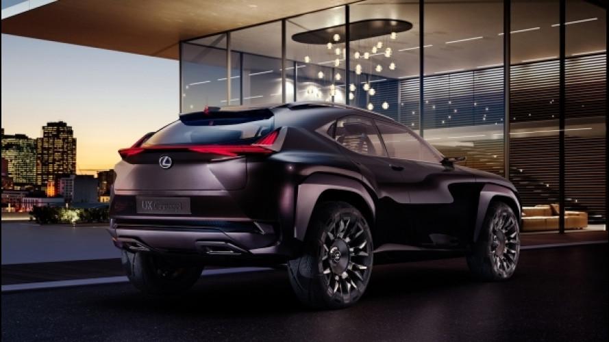 Lexus UX, la concept hi-tech per Parigi