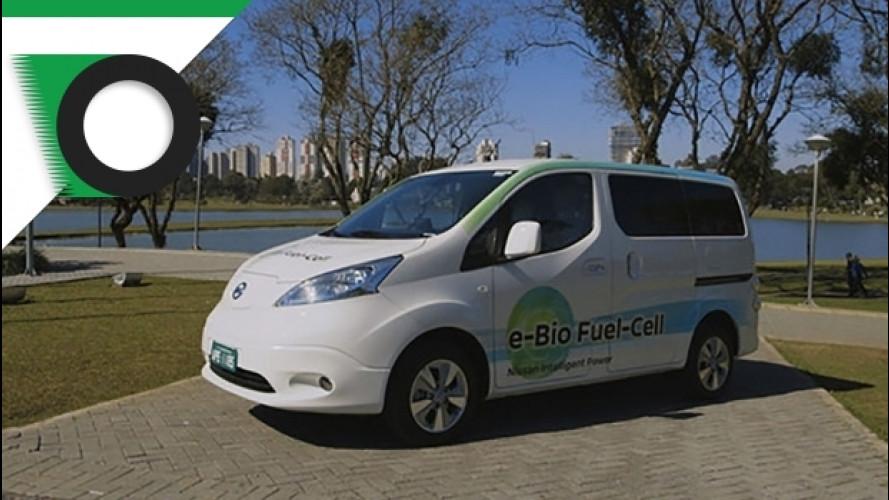 Nissan, la e-NV200 con 600 km di autonomia