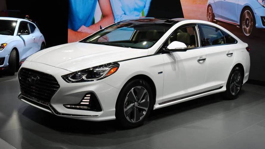 Lovely Chicago Auto Show 2018 Hyundai Sonata Hybrid And PHEV Arrive In Chicago