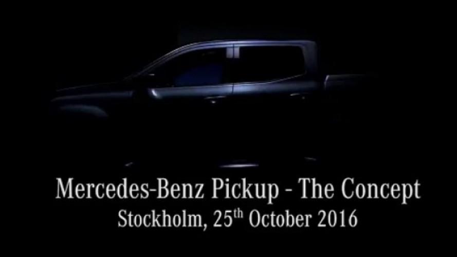 [Copertina] - Mercedes, prime immagini del nuovo pick-up