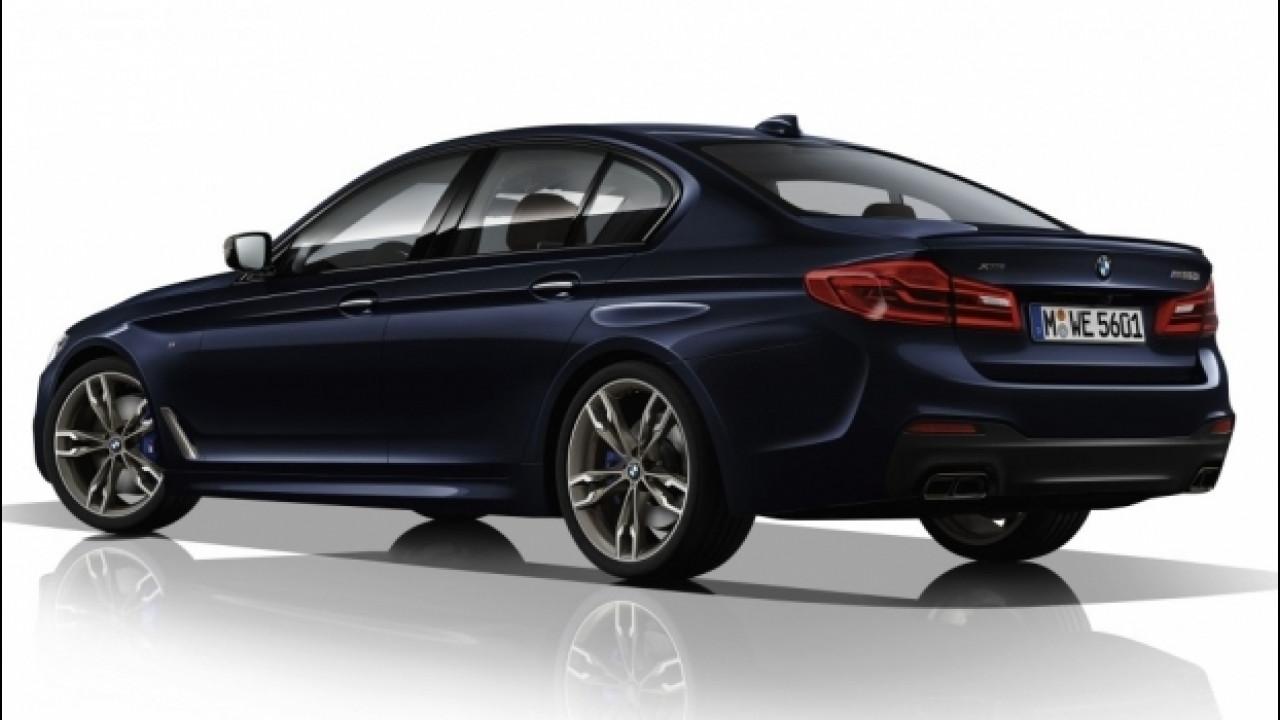 [Copertina] - Nuova BMW M550i, più scattante dell'attuale M5