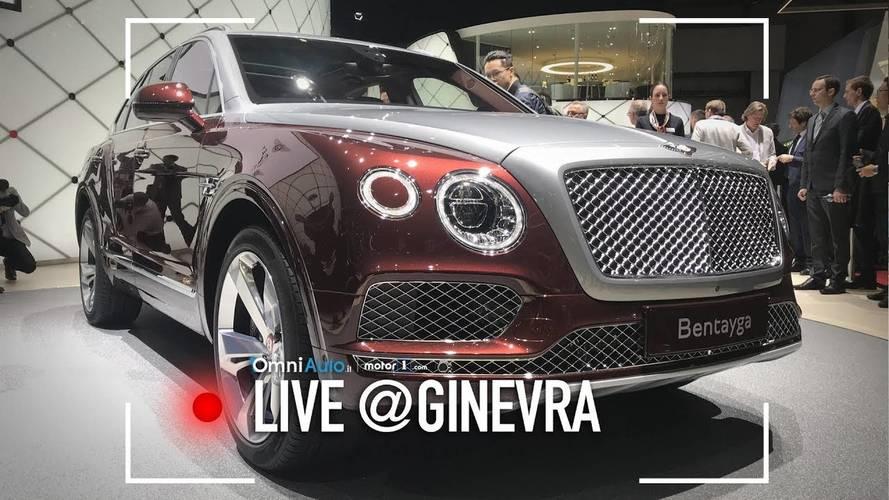 Bentley Bentaya Hybrid, a Ginevra 2018 è la volta dell'ibrido