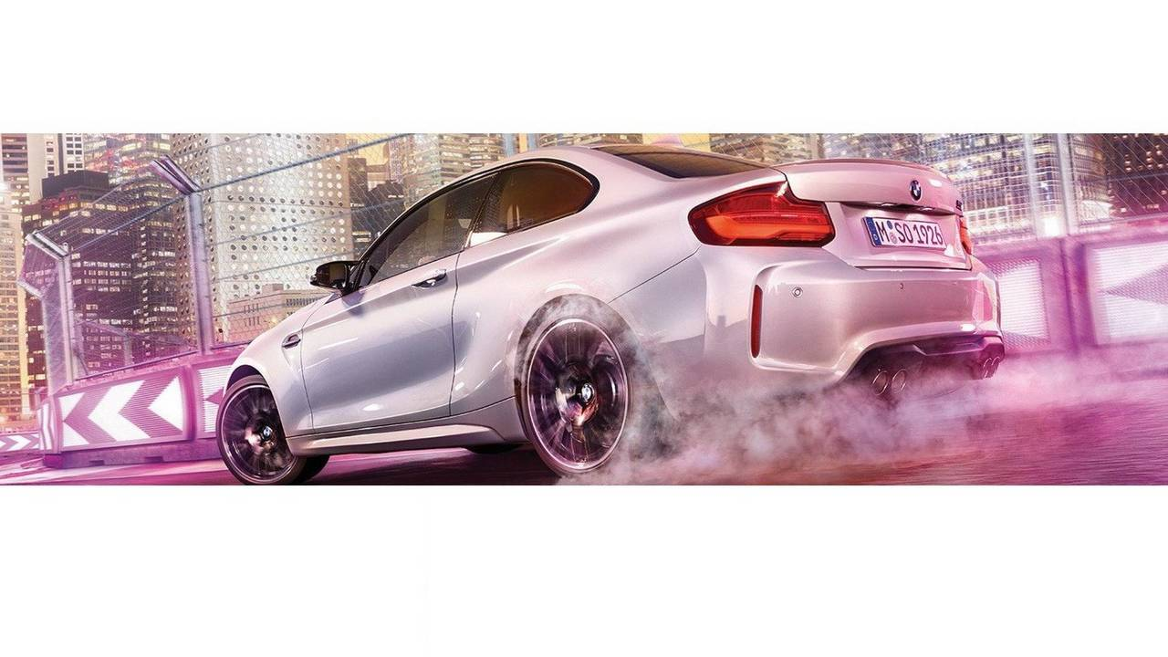 BMW M2 Competition leaked official image