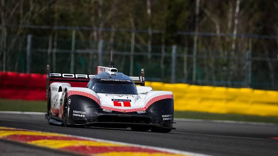 Porsche'nin LMP1 aracından Spa'da rekor geldi