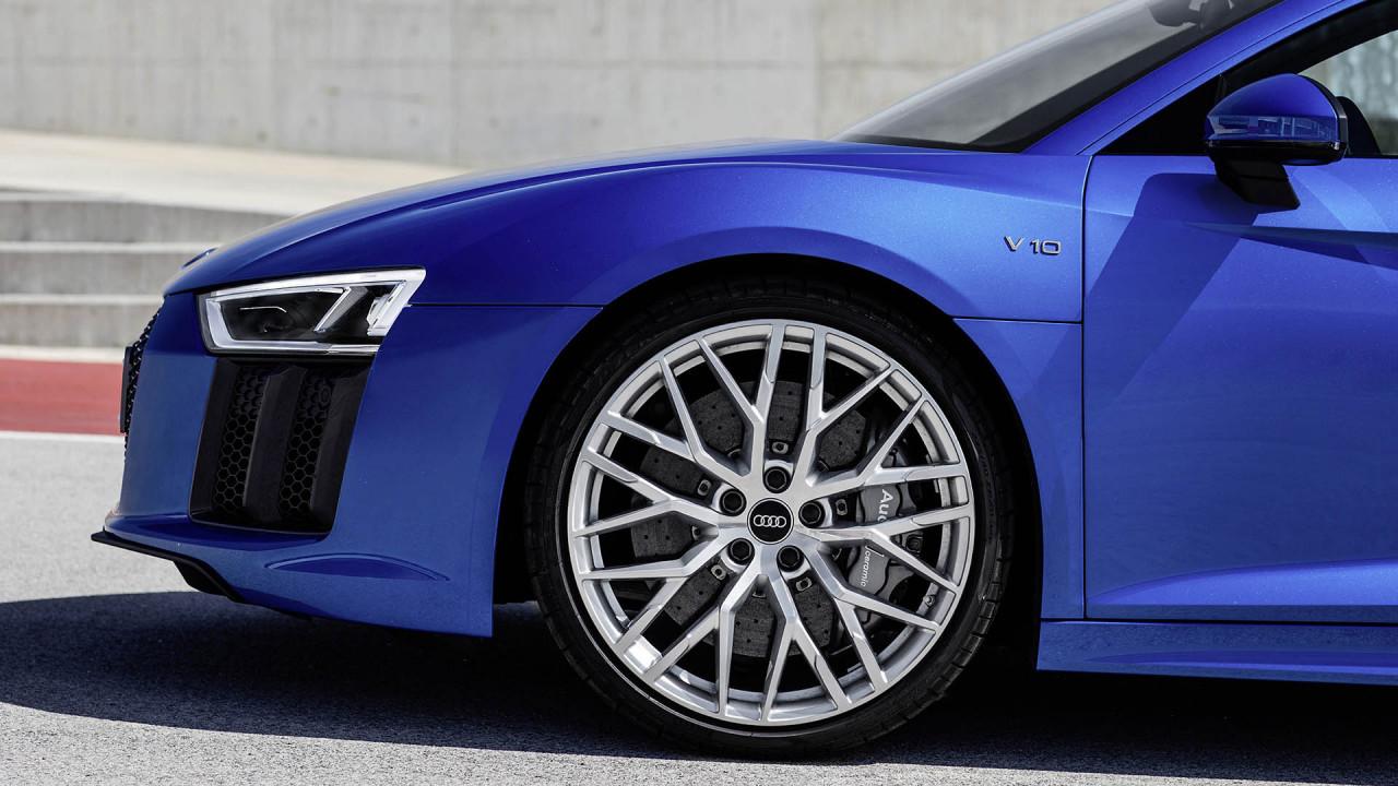 Audi R8: Carbonbremsen