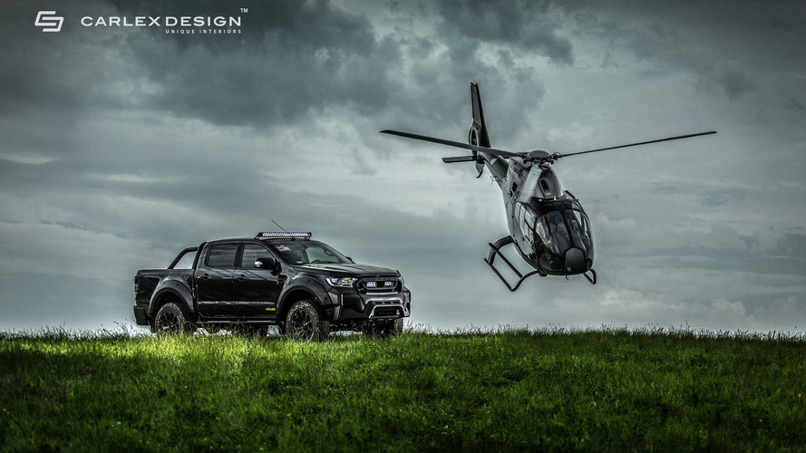 Custom Ford Ranger Can Go Off-Road In Style With Posh Interior