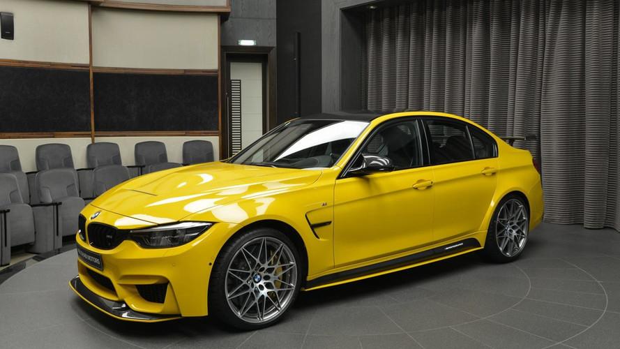 Speed Yellow bu BMW M3 tam bir M parçası cenneti