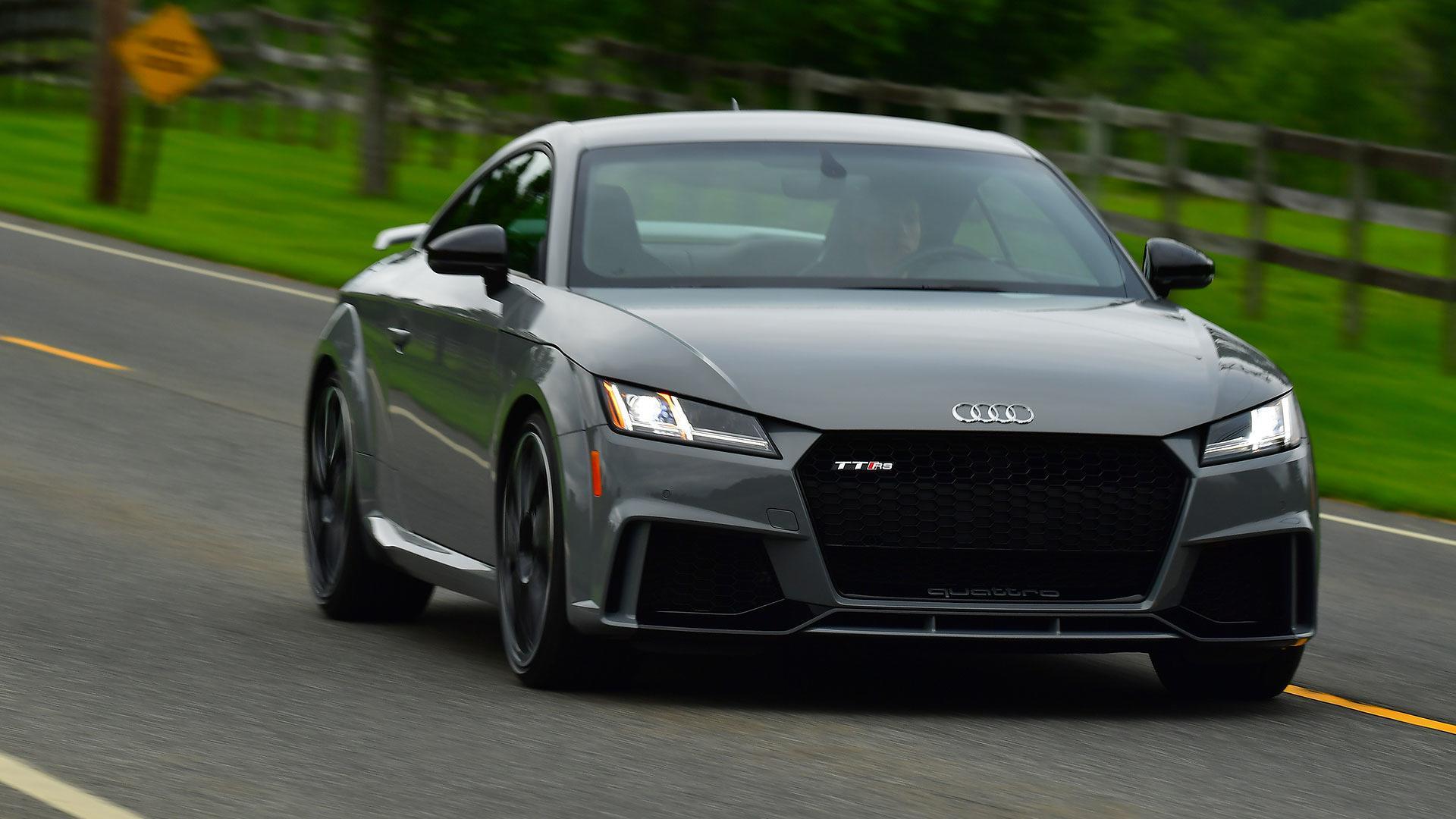 Audi TT RS First Drive The Most Thrilling TT Yet - 2018 audi tt rs