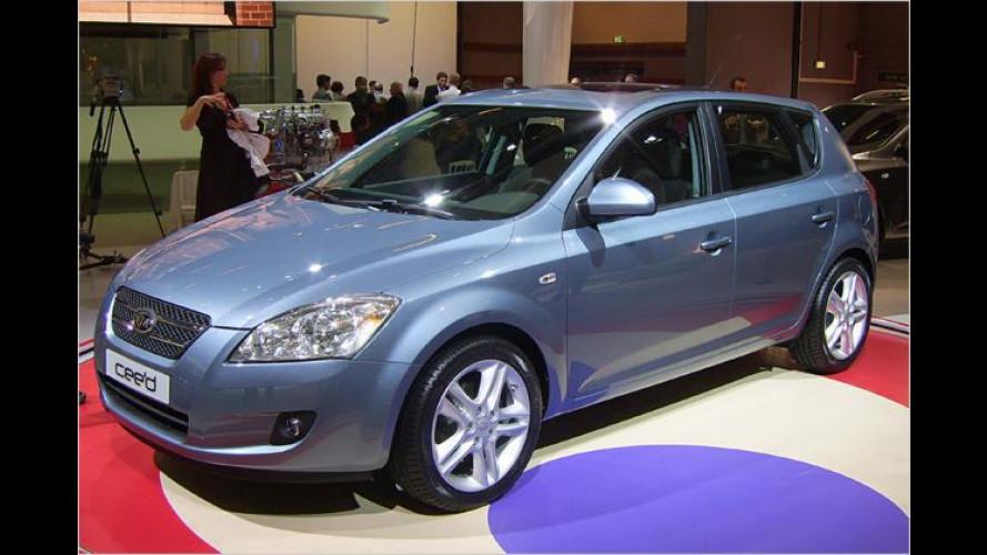 Koreanischer Europäer: Der Kompaktwagen Kia Cee`d
