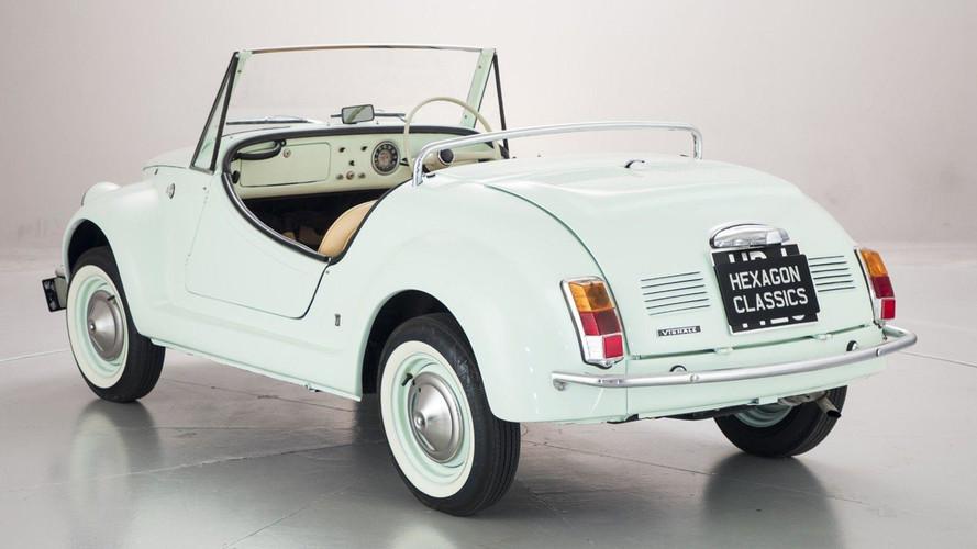 Fiat 500 Gamine, un adorable cabrio con motor bicilíndrico