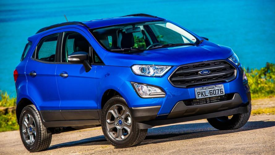 Ford EcoSport ganha desconto de R$ 5 mil para FreeStyle com 7 airbags