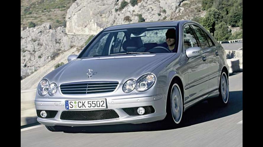 Mercedes-Benz C 55 AMG Limousine und T-Modell