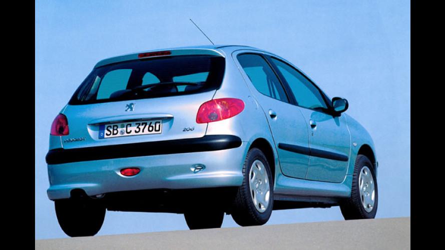 Peugeot 206: Jetzt unter 10.000 Euro als Petit Filou zu haben