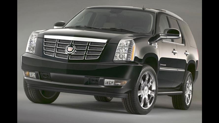Cadillac Escalade: Neue Generation des Jumbos kommt 2006