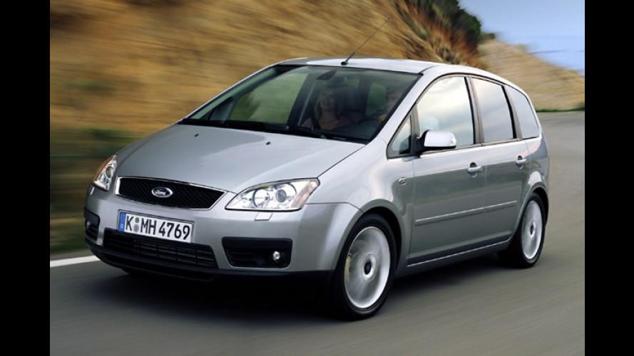 Ford Focus C-Max: Jetzt auch mit günstigem Erdgasantrieb