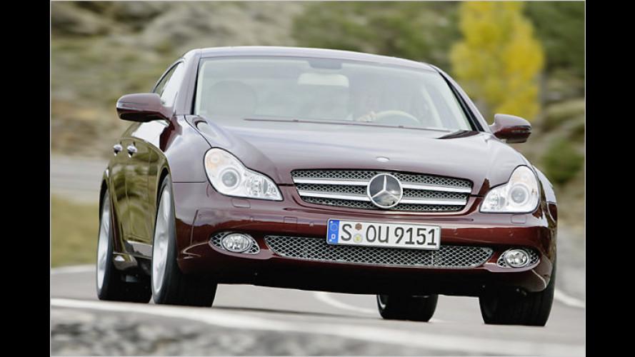 Mercedes zeigt Facelift des viertürigen Coupés CLS