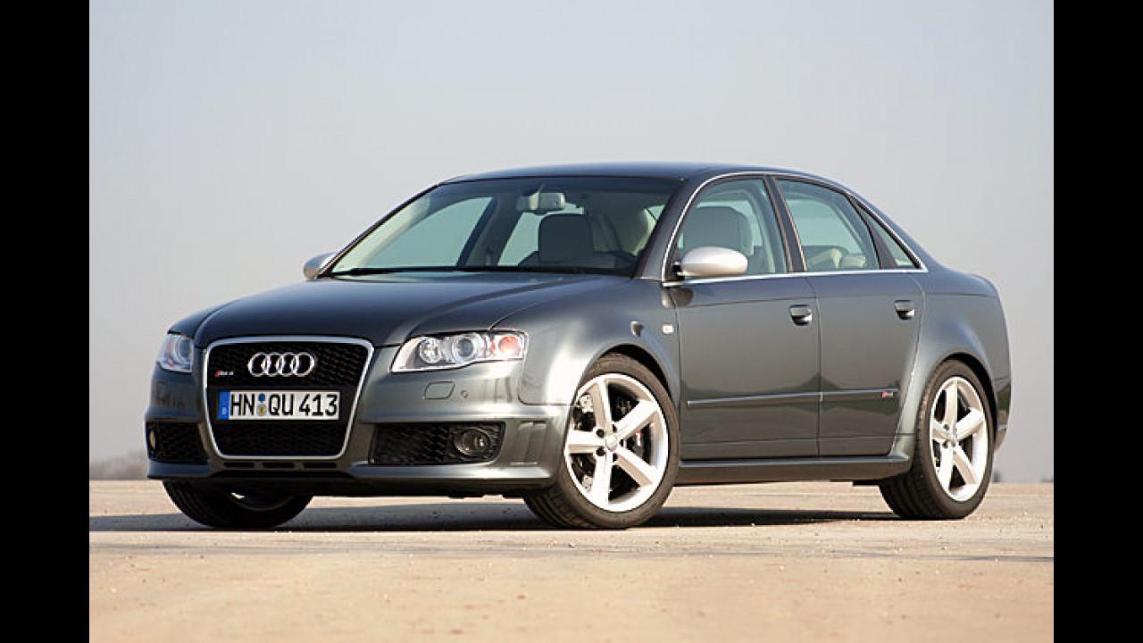 Audi RS4: 4,7 sec