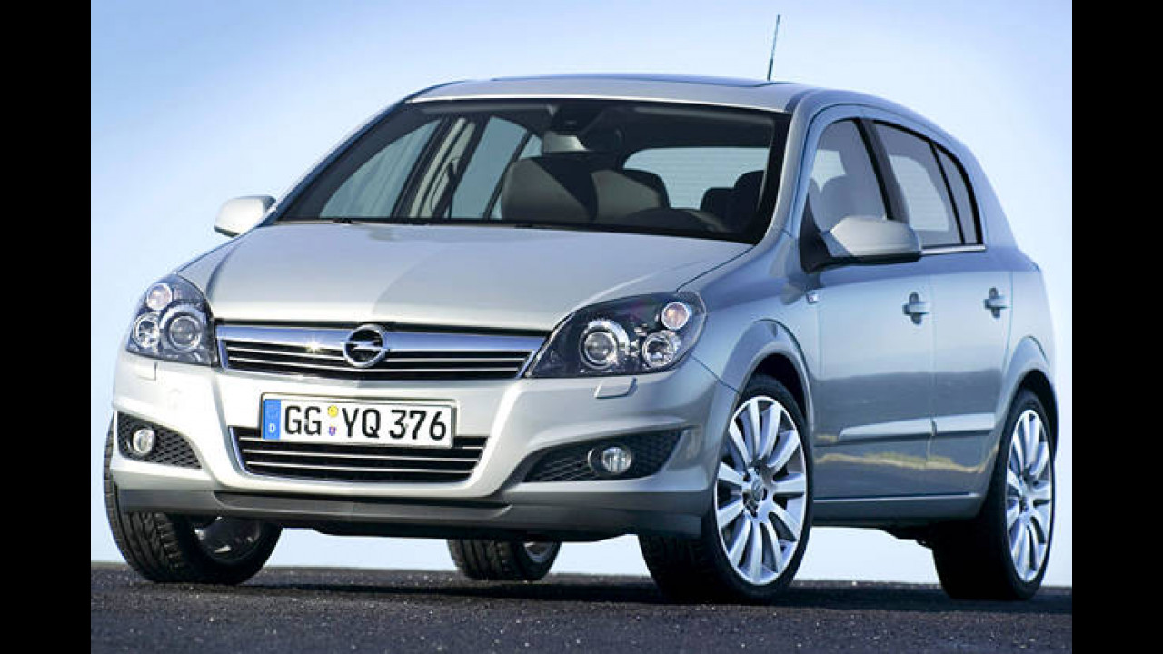 Platz 15: Opel Astra 2.0 Turbo Sport