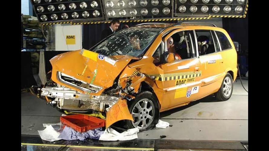 EuroNCAP-Crashtest 2004: Erdgasfahrzeuge