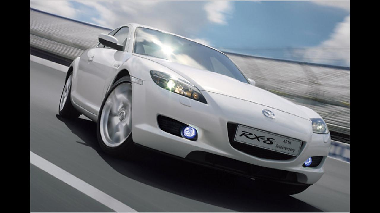 Mazda bringt Jubi-RX-8