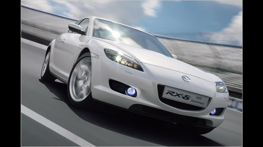 Jubiläum: Mazda zelebriert 40 Jahre Wankel in Serie