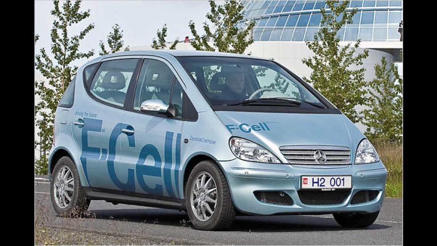 A-Klasse F-Cell: Erster Brennstoffzellen-PKW in Island