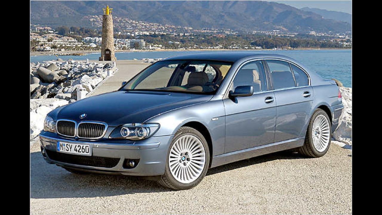 Platz 3 bei den Luxus-Limousinen: BMW 7er (13,9 Prozent)