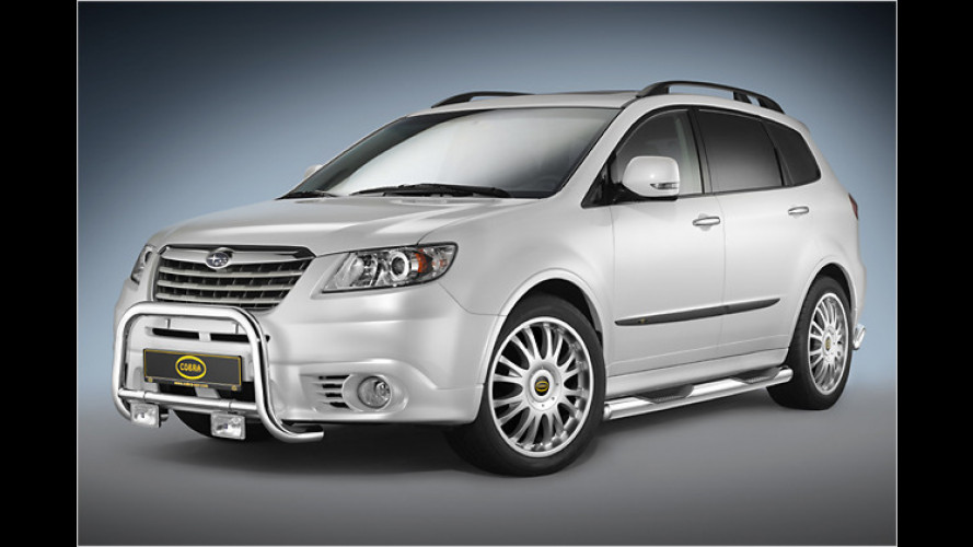 Cobra verpasst dem Subaru Tribeca eine echte Offroad-Optik