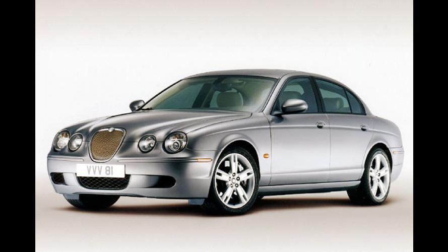 Jaguar poliert S-Type: Frisch gemacht fürs neue Modelljahr
