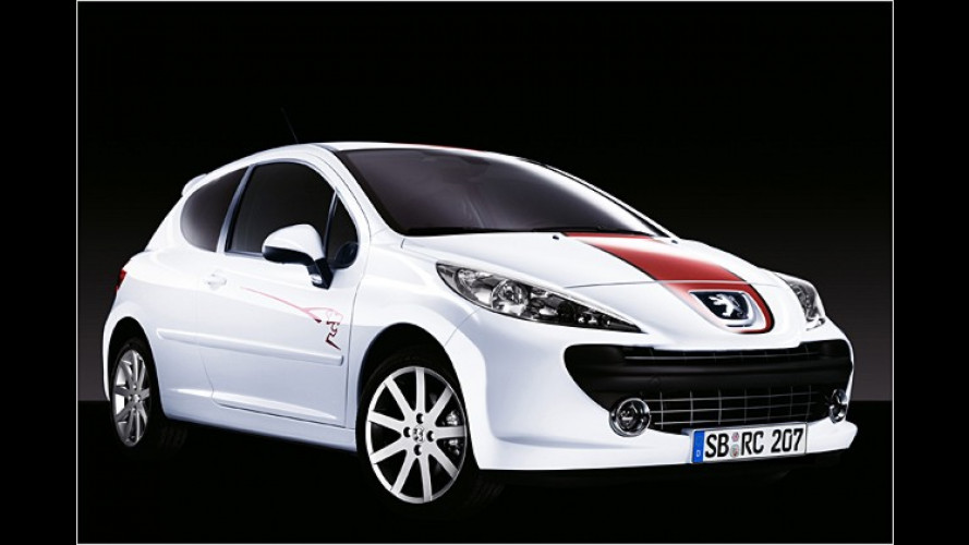Hommage an einen Rennwagen: Peugeot 207 Le Mans Séries