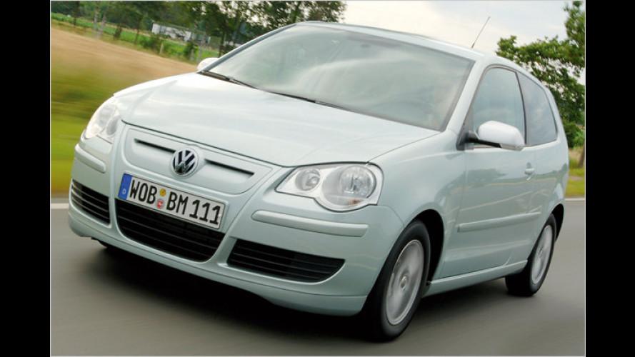 VW Polo BlueMotion Sieger bei britischem CO2-Ranking
