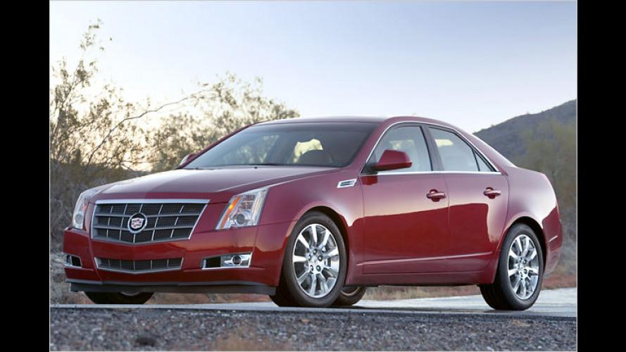 Cadillac CTS: Erstmals mit Allrad- und Heckantrieb erhältlich