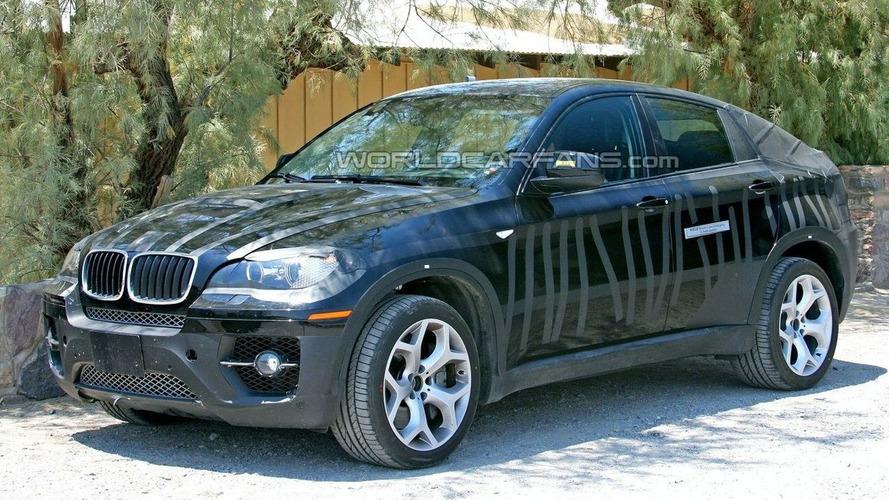 BMW X6 Hybrid Spied
