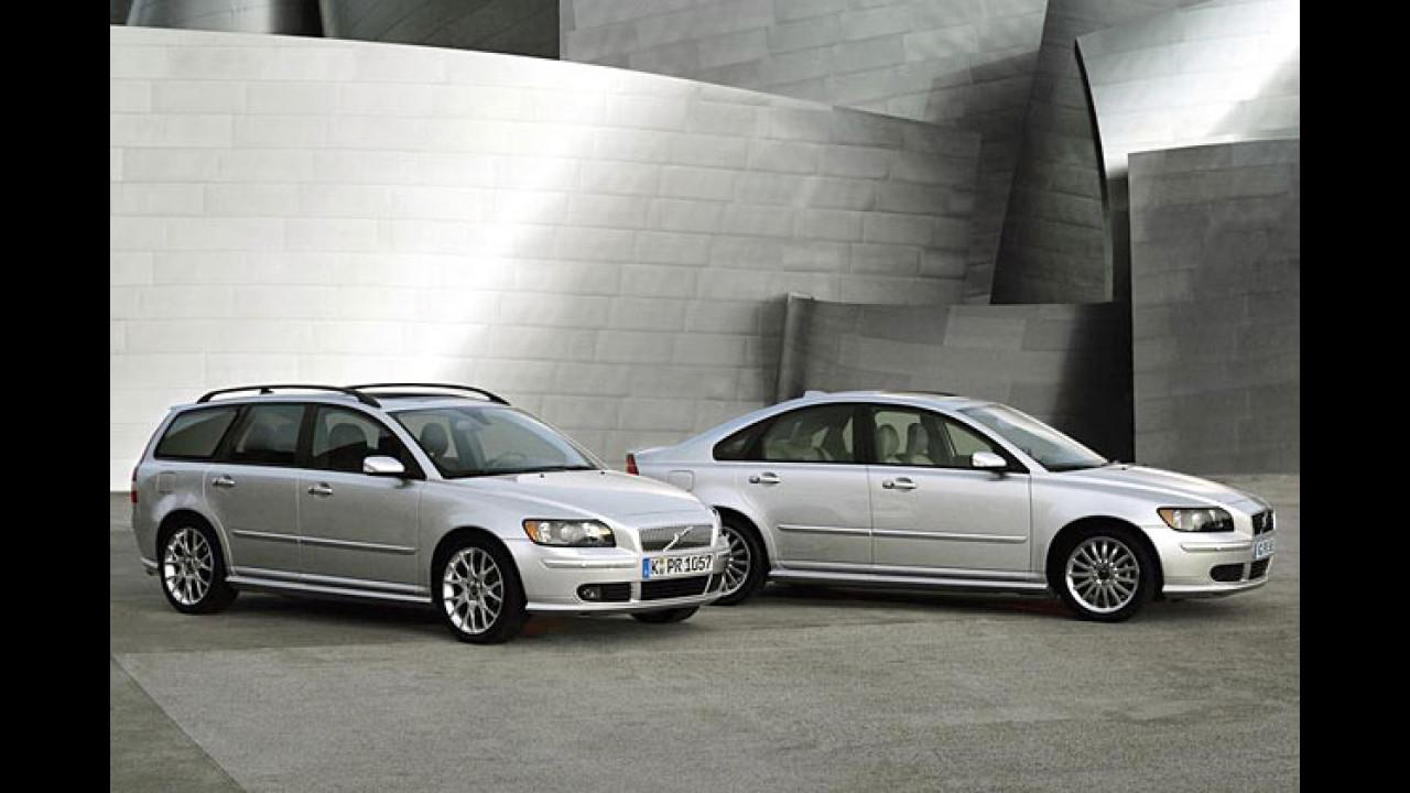 Volvo S40 D5 und V50 D5