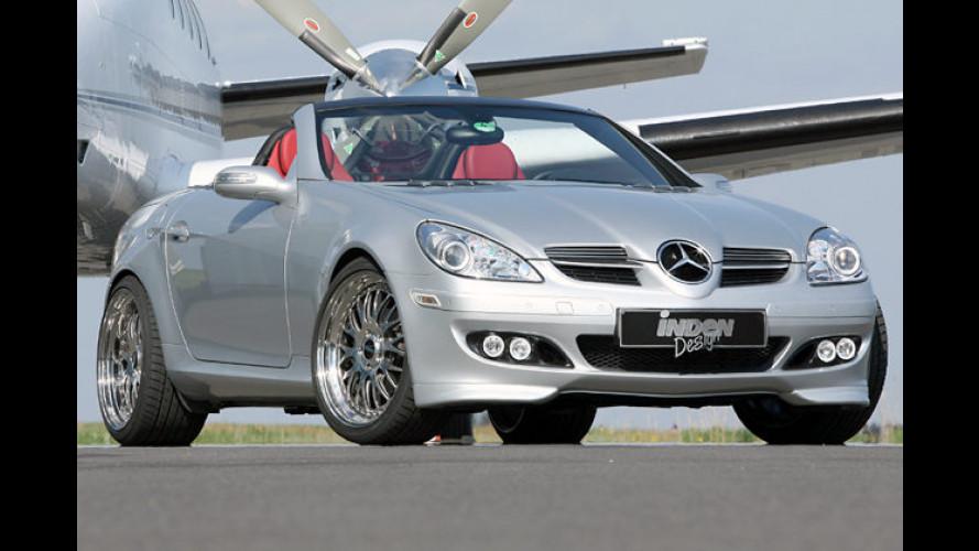 Feines Silber von Inden-Design: Mercedes SLK 200