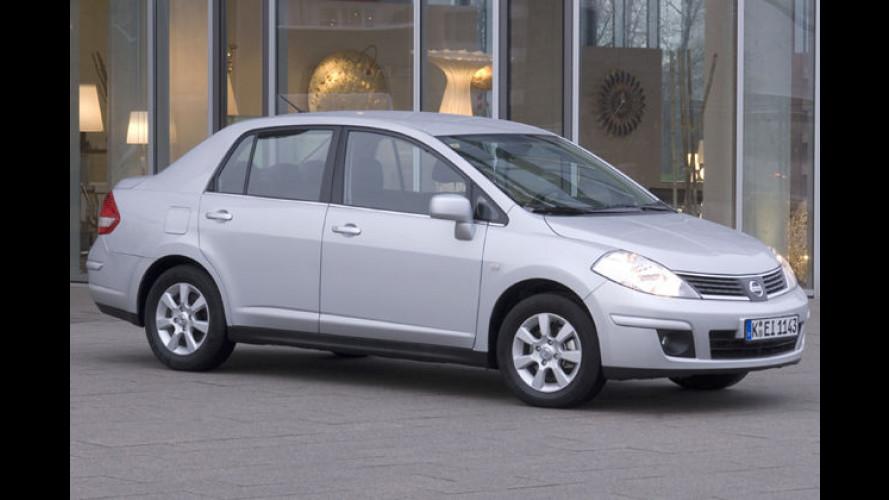 Ein Weltauto für Deutschland: Nissan bringt 2008 den Tiida