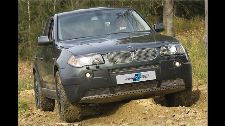 Waidgerechter Geländewagen: Der BMW X3 von Hartge