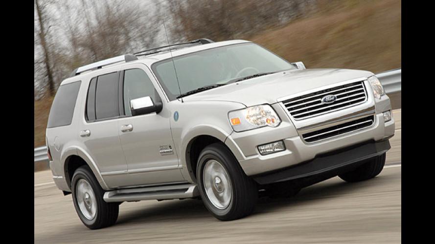 Ford Explorer mit Brennstoffzelle auf L.A. Auto Show 2006