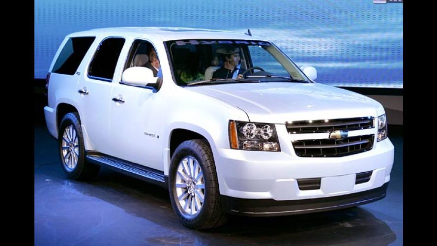 GM, DaimlerChrysler und BMW revolutionieren Hybridtechnik
